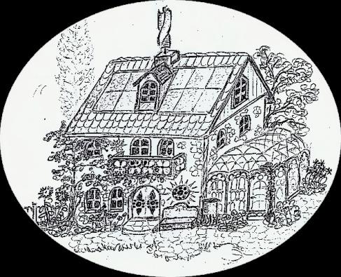 Jamilanda - Windturbine auf dem Haus-Dach