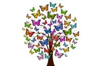 Schmetterlings-Baum